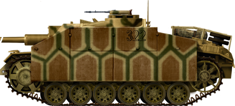 Another StuG III Ausf.G in Russia