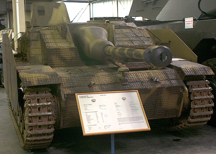 StuG III at the Koblenz museum