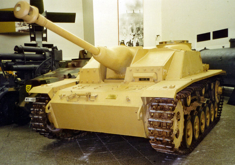 StuG III preserved at the Dresden museum