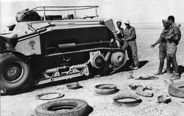 SdKfz 254 in north Africa