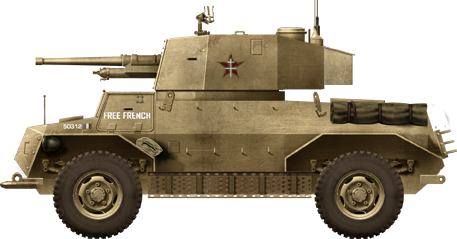 Free French Forces Marmon-Herrington Mk.IV